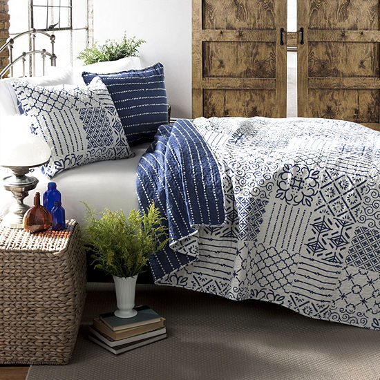 Lush Decor Monique 3pc Quilt Set