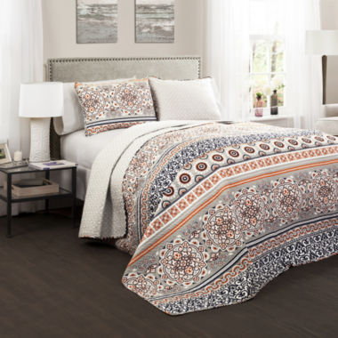 Lush Decor Nesco 3pc Quilt Set