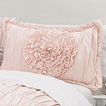 Lush Decor Serena 3pc Comforter Set Pink