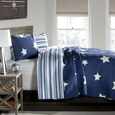 Lush Decor Star Quilt Set