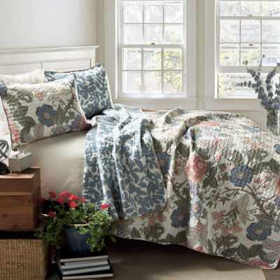 Lush Decor Sydney 3pc Quilt Set