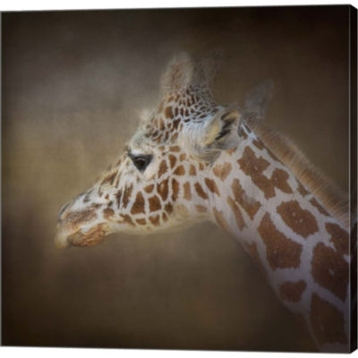 Metaverse Art My Tallest Friend Gallery Wrapped Canvas Wall Art