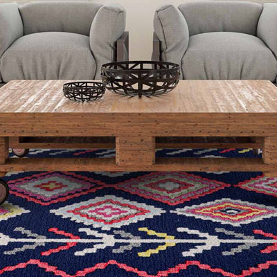Feizy Barnes Hand Tufted Rectangular Indoor Accent Rug