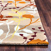 Rizzy Home Bradberry Downs Collection Hand-Tufted Anna Floral Area Rug
