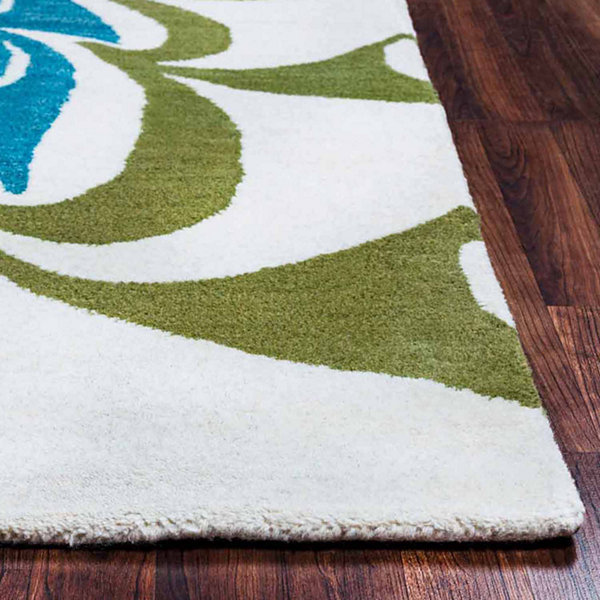 Rizzy Home Bradberry Downs Collection Hand-Tufted Ava Abstract Area Rug
