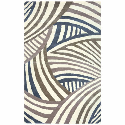 Rizzy Home Fusion Collection Hand-Tufted Maria Abstract Area Rug