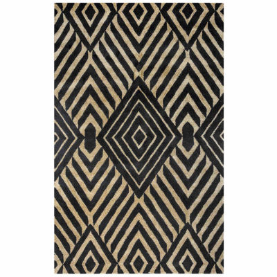 Rizzy Home Gillespie Avenue Collection Hand-Tufted Sadie Geometric Area Rug