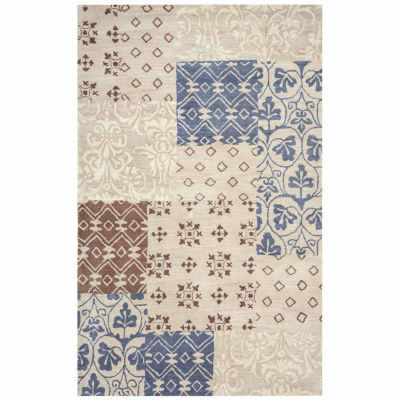Rizzy Home Palmer Collection Hand-Tufted Peyton Patchwork Area Rug
