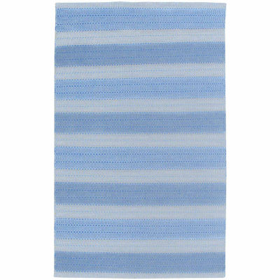 Rizzy Home Twist Collection Hand-Woven Raven Stripe Area Rug