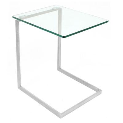 Zenn Glass End Table