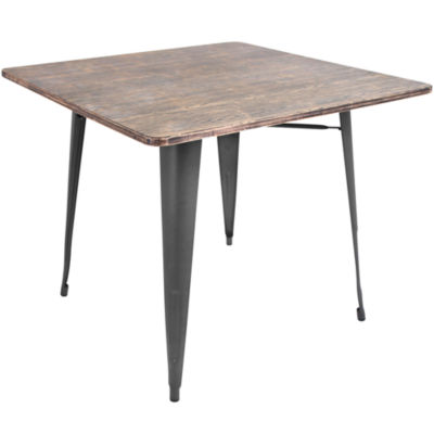 Oregon Modern Square Dining Table