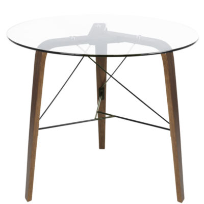 Trilogy Mid-Century Round Dining Table