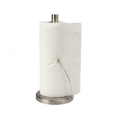 Mind Reader Stainless Steel Paper Towel Holder With Weighted Base