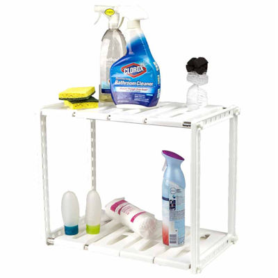 Mind Reader 2-Tier Under the Sink Shelf
