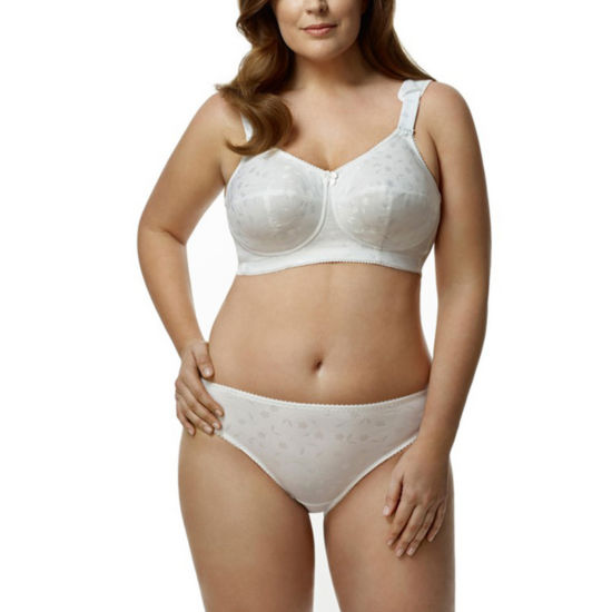 Elila Jacquard Softcup Full Coverage Bra