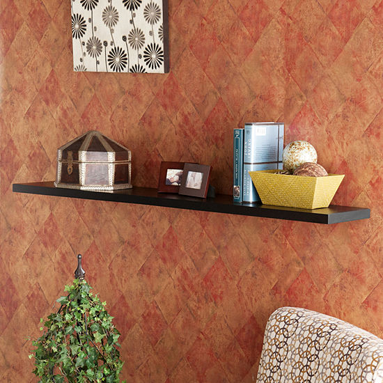 JCPenney Home Chalet 48-Inch Floating Shelf