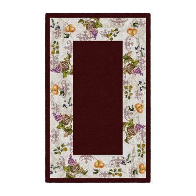 Brumlow Timeless Fruit Printed Rectangular Area Rugs