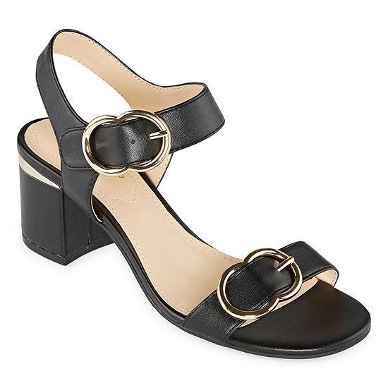 Liz Claiborne Womens Lanza Heeled Sandals