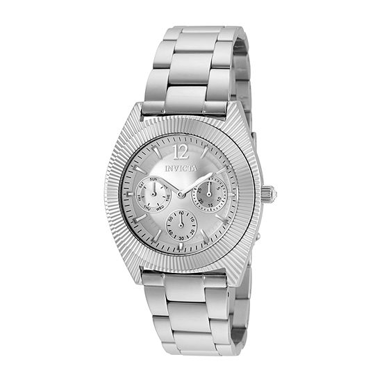 Invicta Angel Unisex Silver Tone Bracelet Watch-25247