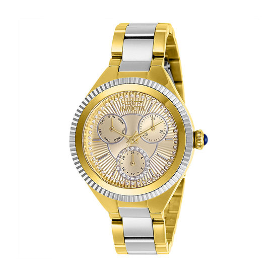 Invicta Womens Two Tone Bracelet Watch-28821