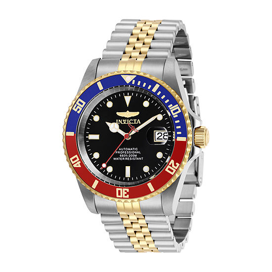 Invicta Pro Diver Mens Automatic Two Tone Stainless Steel Bracelet Watch-29180