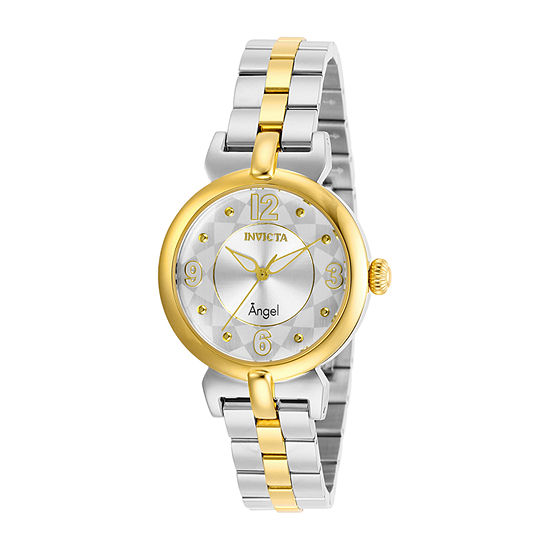 Invicta Angel Womens Two Tone Stainless Steel Bracelet Watch-29147