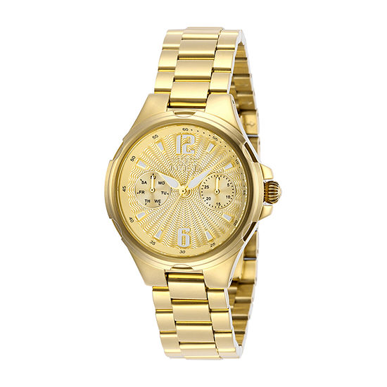 Invicta Angel Womens Gold Tone Stainless Steel Bracelet Watch - 29149