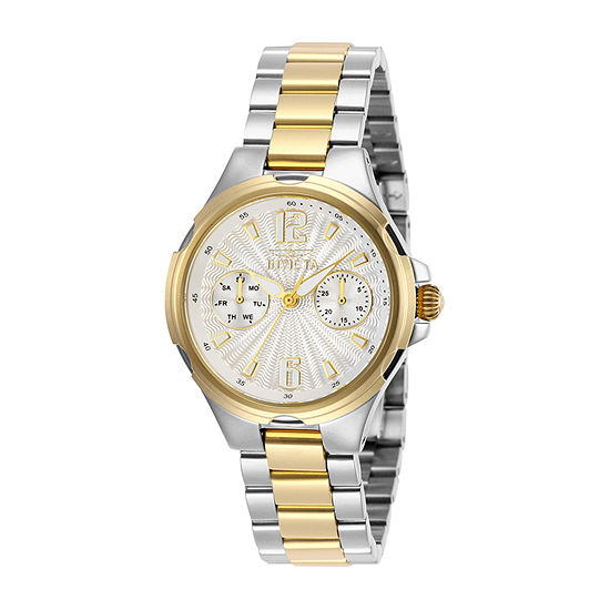 Invicta Angel Womens Two Tone Stainless Steel Bracelet Watch-29150
