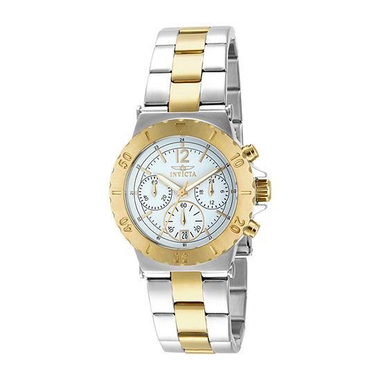 Invicta Specialty Womens Two Tone Bracelet Watch-14855