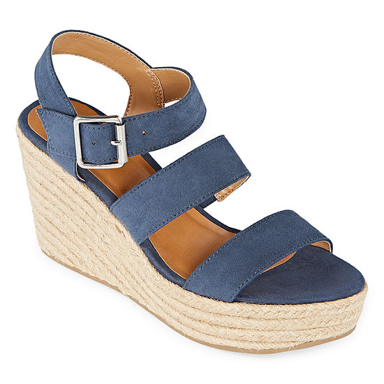 a.n.a Womens Jensen Wedge Sandals