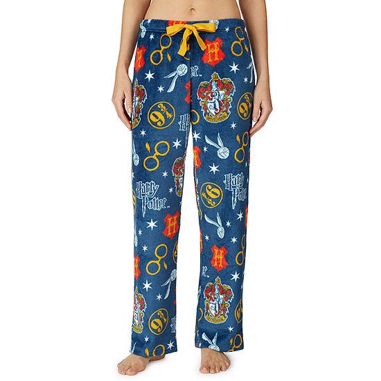Warner Bros Womens Plush Pajama Pants Harry Potter