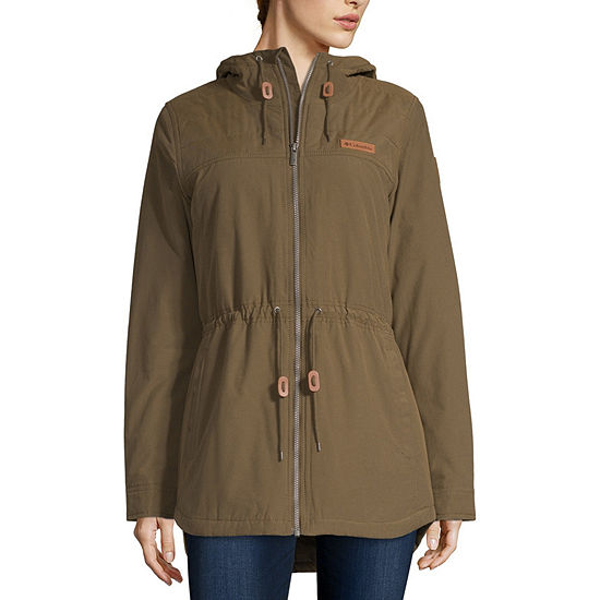 Columbia Chatfeild Hill Water Resistant Midweight Car Coat