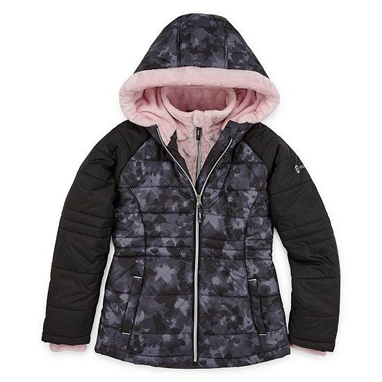 Free Country - Girls Hooded Heavyweight Puffer Jacket Preschool / Big Kid