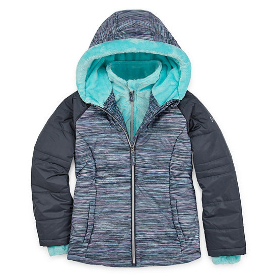 Free Country - Girls Hooded Heavyweight Puffer Jacket Preschool / Big Kid