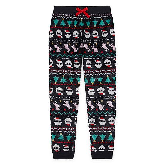 Arizona Christmas Girls Fleece Pajama Pants