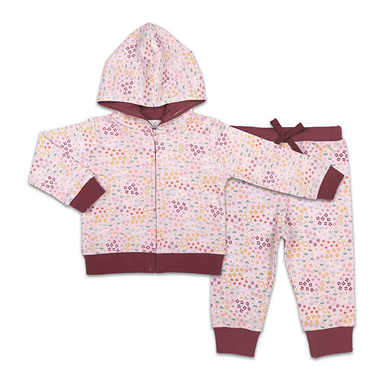 The Peanutshell Baby Girls 2-pc. Pant Set