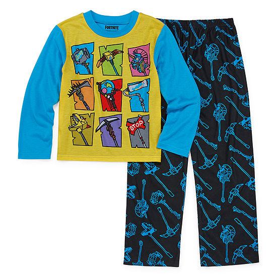 Fortnite Boys 2-pc. Fortnite Pajama Set Preschool / Big Kid