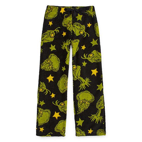 Holiday Boys Fleece Pajama Pants Grinch