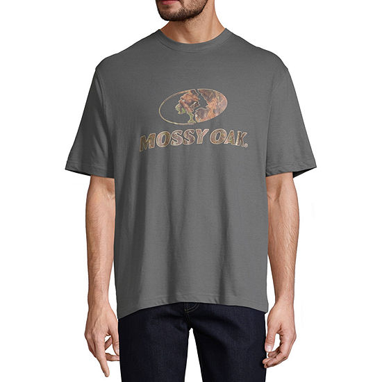 Mossy Oak Mens Crew Neck Short Sleeve Graphic T-Shirt