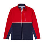 IZOD Big and Tall Shaker Fleece Colorblock Jacket
