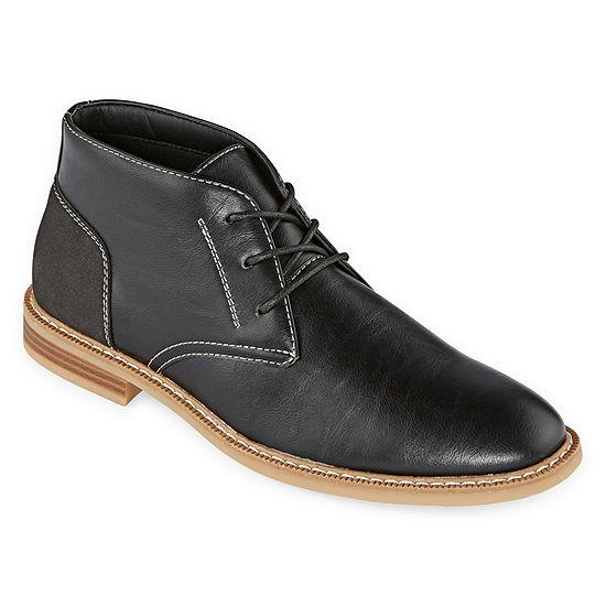 Arizona Mens Gleeson Chukka Boots Flat Heel