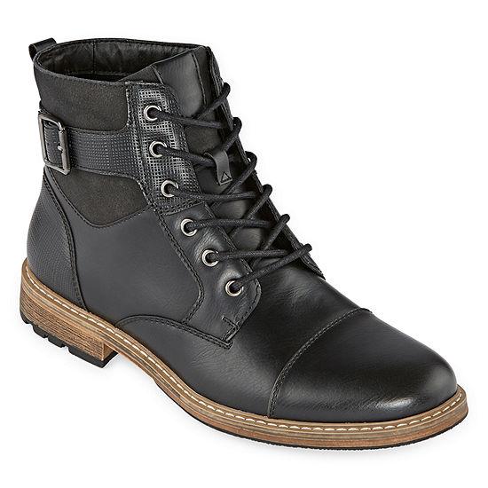 Arizona Mens Lautner Flat Heel Lace Up Boots