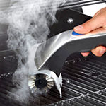 Brookstone Motorized Grill Brush with Steam Sprayer