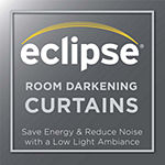 Eclipse Darrell Energy Saving Blackout Rod-Pocket Curtain Panel