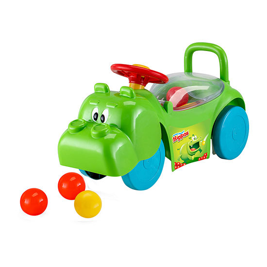 Kid Trax Hungry Hippo Foot To Floor Ride On Green