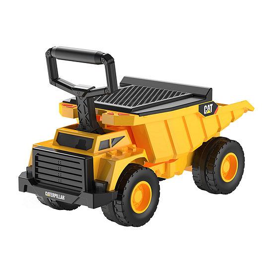 Kid Trax Caterpillar Cat Dump Foot To Floor Ride-On Truck