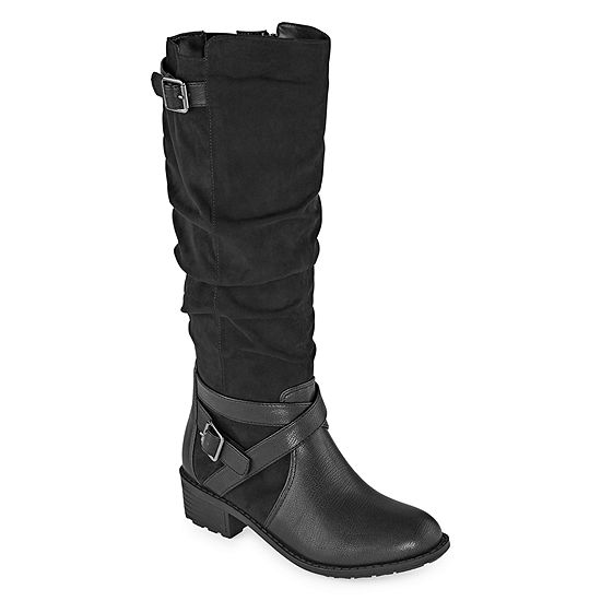 St. John's Bay Womens Debra Riding Boots