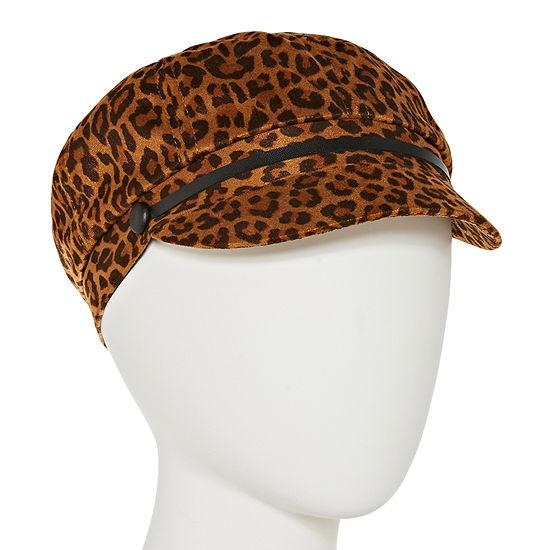 August Hat Co. Inc. Leopard Newsboy Hat