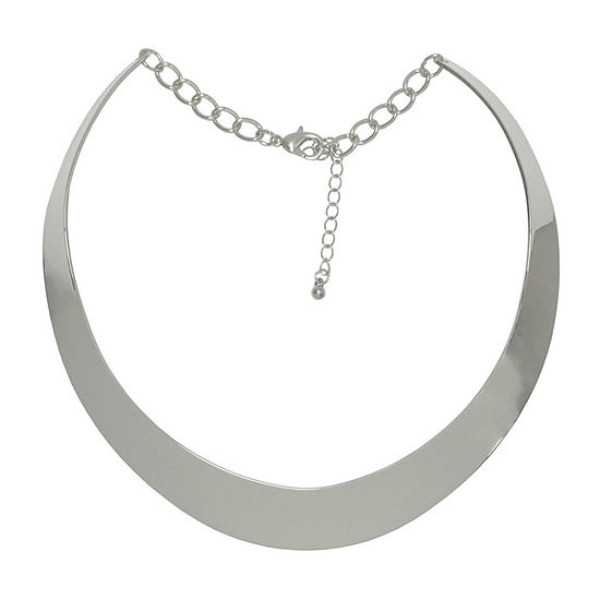 Bold Elements 13 Inch Link Collar Necklace