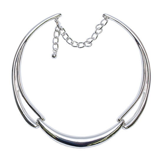 Bold Elements 10 Inch Cable Collar Necklace